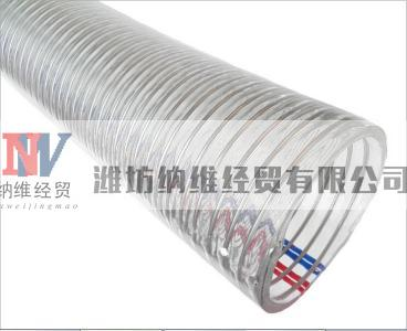 offer PVC fiber strengthen soft tube with different color and size, small and big diameter