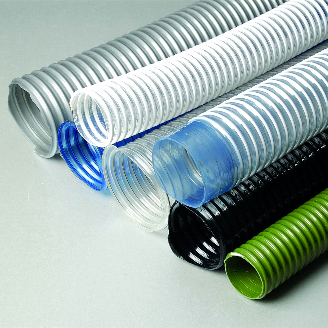 Plastic pipe and hose