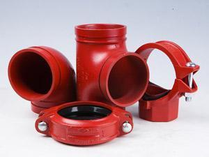 Fire control pipe fitting
