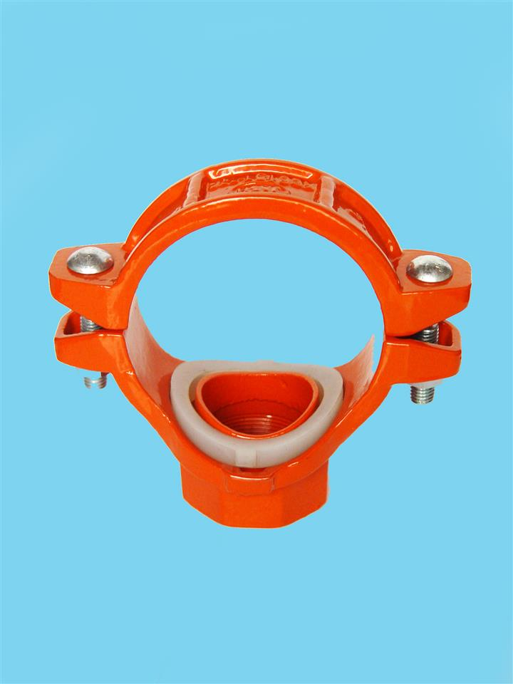 UL / FM certificate grooved fittings and couplings mechanical tee
