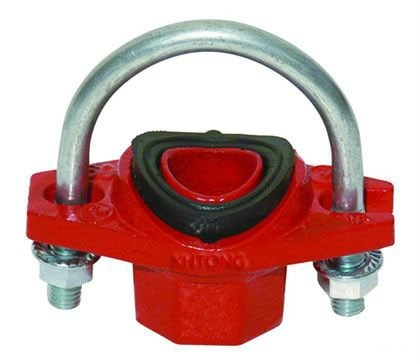 FM/UL ductile iron U-BOLT mechanical tee supplier in China