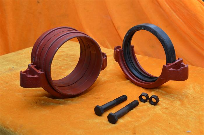 OEM ductile iron grooved pipe fittings