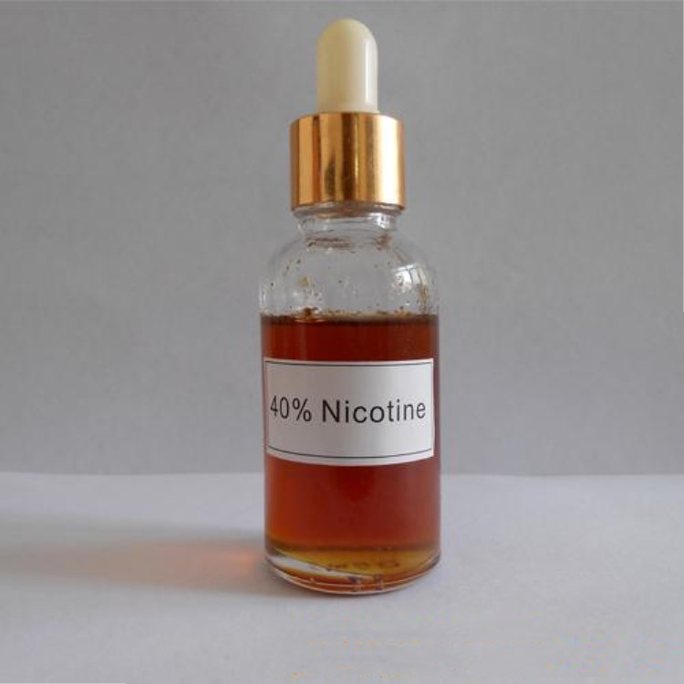 40% nicotine sulfate and other content nicotine products