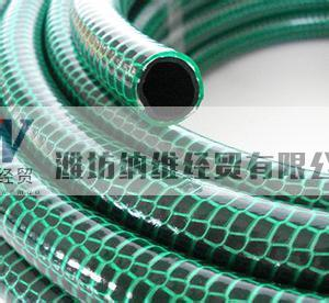 offer plastic fiber strength soft hose with different color and size, small and big diameter