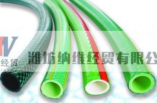 offer plastic fiber strengthen soft tube with different color and size, small and big diameter