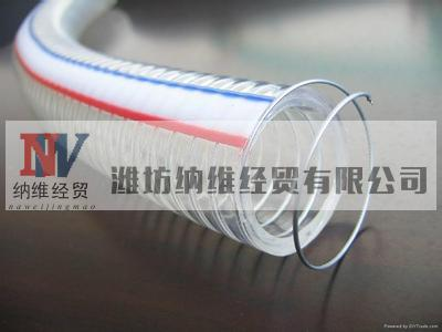 supply good quality pvc steel wire garden hose with good price